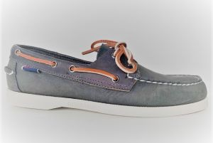 SEBAGO DOCKSIDE NOTCH DKgrey-blueNavy