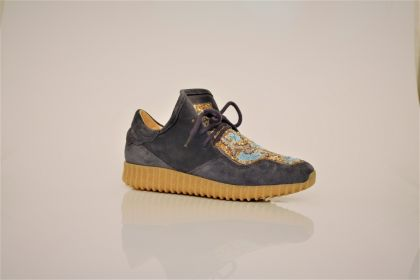 LOW SNEAKER LEATHER MIX